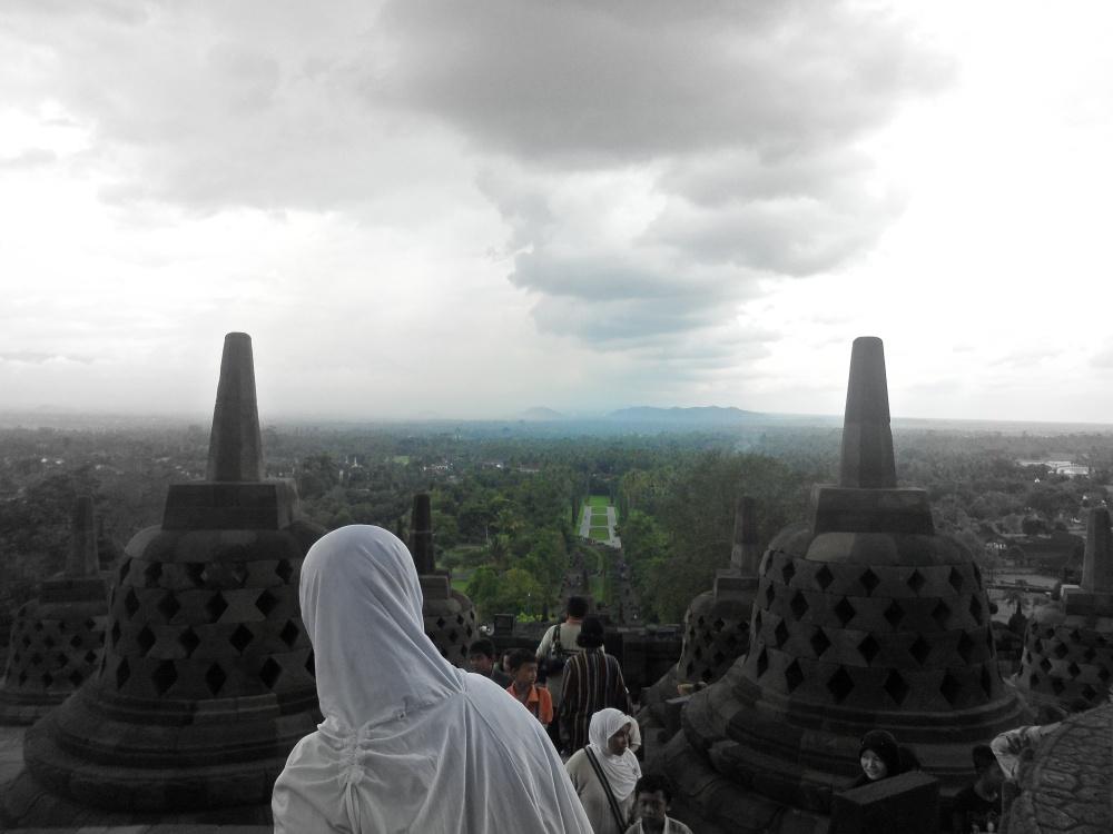 Borobudur Mendung
